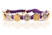 Load image into Gallery viewer, MSMH Benedictine Blessing Bracelet - Mixed Medals