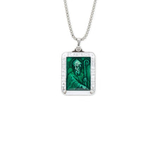 Load image into Gallery viewer, Saint Patrick Necklace - Silver