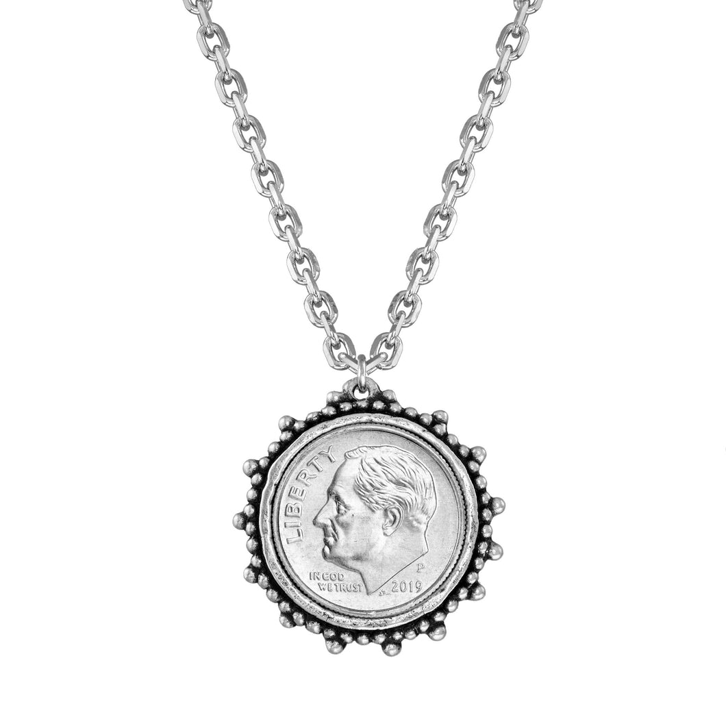 Divine Dime Necklace