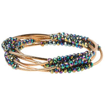 Load image into Gallery viewer, Scout Wrap : oil slick/gold