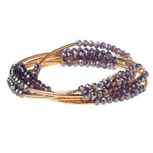 Load image into Gallery viewer, Scout Wrap : amethyst/gold