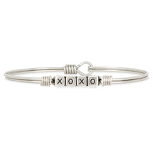 Load image into Gallery viewer, XOXO Blocks Bangle Bracelet