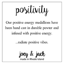 Load image into Gallery viewer, Blush Jade Positivity Medallion