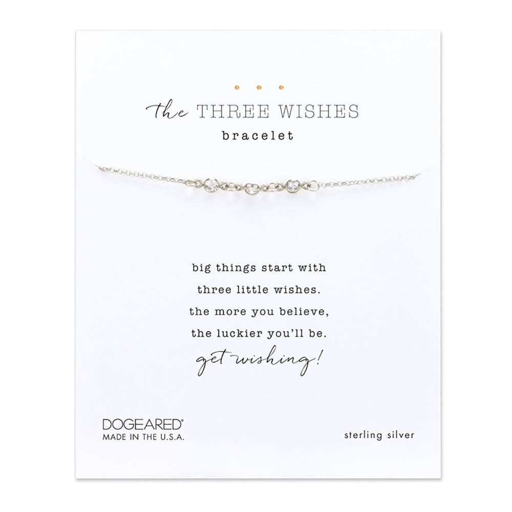 Dogeared The Three Wishes Bracelet