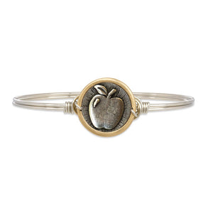 Apple Bangle Bracelet (Regular Size)