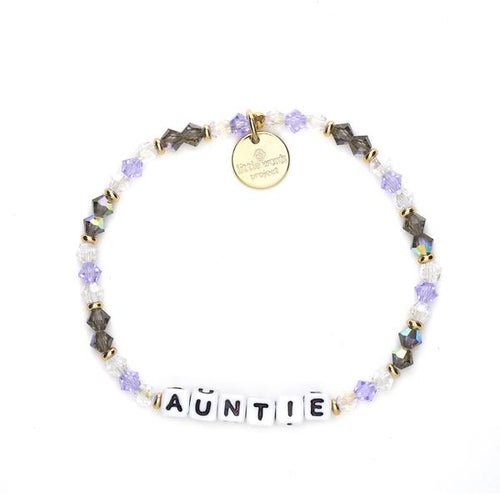 Auntie Little Words Project Bracelet