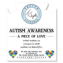 Load image into Gallery viewer, TJazelle Autism Awareness Charm Bracelet