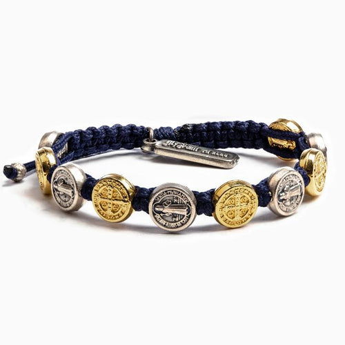 MSMH Benedictine Blessing Bracelet - Mixed Medals