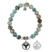Load image into Gallery viewer, TJazelle Caduceus Charm Bracelet