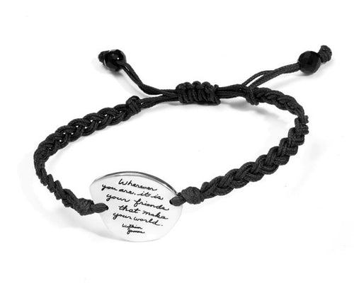 World of Friends Hand-Woven Cloud Bracelet