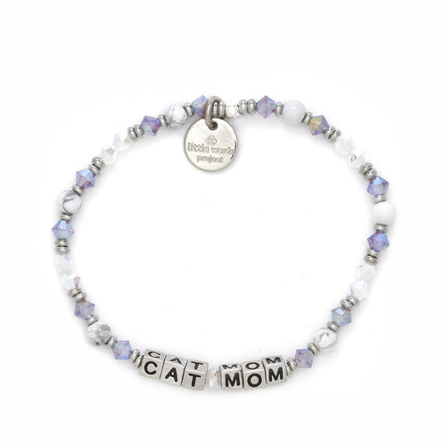 Cat Mom Little Words Project Bracelet