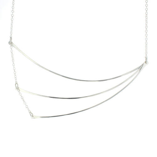 Lotus Charlotte Necklace - Silver