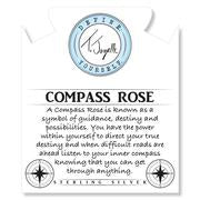 Load image into Gallery viewer, TJazelle Compass Rose Charm Bracelet