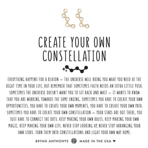 Create Your Own Constellation Earrings