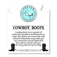 Load image into Gallery viewer, TJazelle Cowboy Boot Charm Bracelet