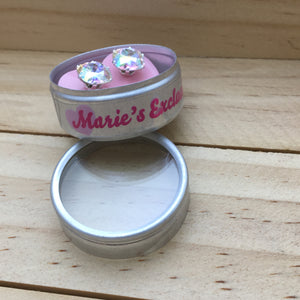 Marie's Exclusive Crystal AB Mini Cushion