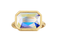 Load image into Gallery viewer, Aurora Borealis Crystal Dylan Cocktail Ring