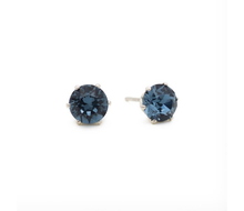 Load image into Gallery viewer, Denim Ultra Mini Bling