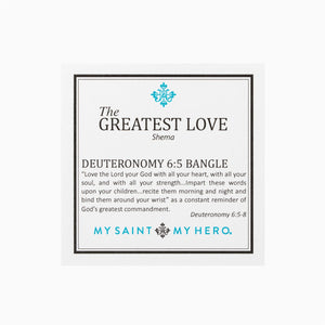 Greatest Love Bangle - Gold