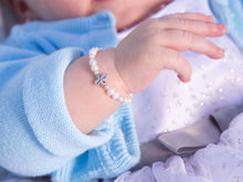 Load image into Gallery viewer, Emily - Sterling Silver Bracelet (Size Small 0-12 Months)