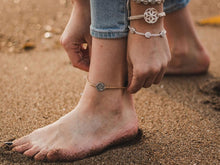 Load image into Gallery viewer, Empower Seed of Life Anklet