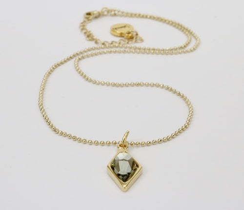 Stash Swarovski Crystal Berlynne Necklace - Black Diamond