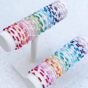Swarovski Crystal Stacker Beaded Bracelet