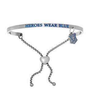 Heroes Wear Blue Bangle