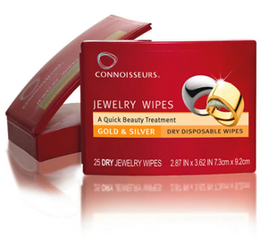 Jewelry Wipes for Gold & Silver