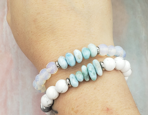 Joey and Jack Larimar Bracelet
