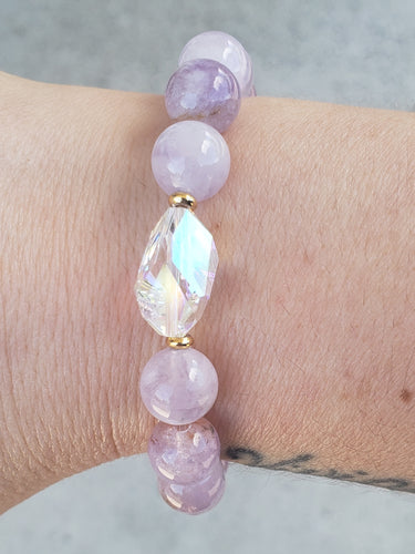 Stash Light Amethyst Bethaney Swarovski Crystal Bracelet