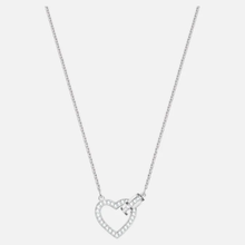 Load image into Gallery viewer, Lovely Necklace, White, Rhodium plated