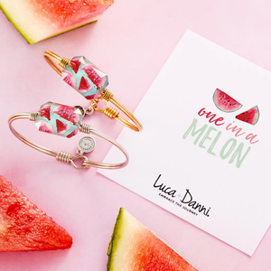 Watermelon Dylan Bangle Bracelet