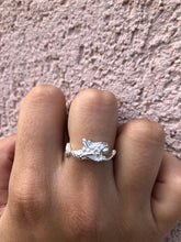 Load image into Gallery viewer, Sterling Silver Mermaid Ring