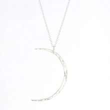 Load image into Gallery viewer, Lotus Celeste Moon Necklace (Small)