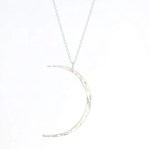 Lotus Celeste Moon Necklace (Small)