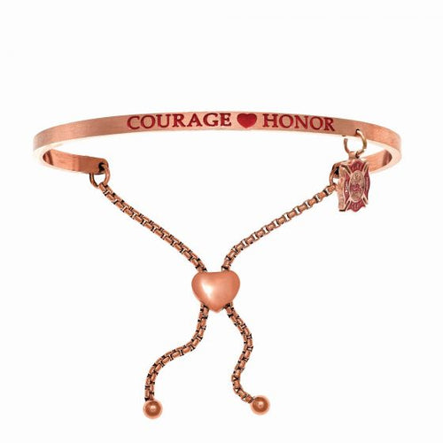 Courage, Honor Bangle