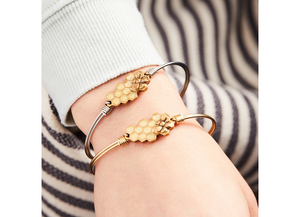Queen Bee Bangle Bracelet