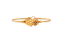 Load image into Gallery viewer, Queen Bee Bangle Bracelet