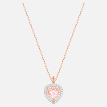 Load image into Gallery viewer, Rose-gold tone plated necklace