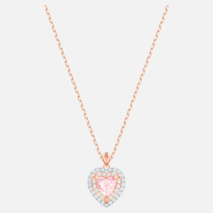 Rose-gold tone plated necklace