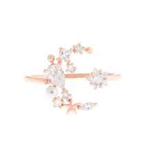 Load image into Gallery viewer, Moonlight Ring - Rose Gold