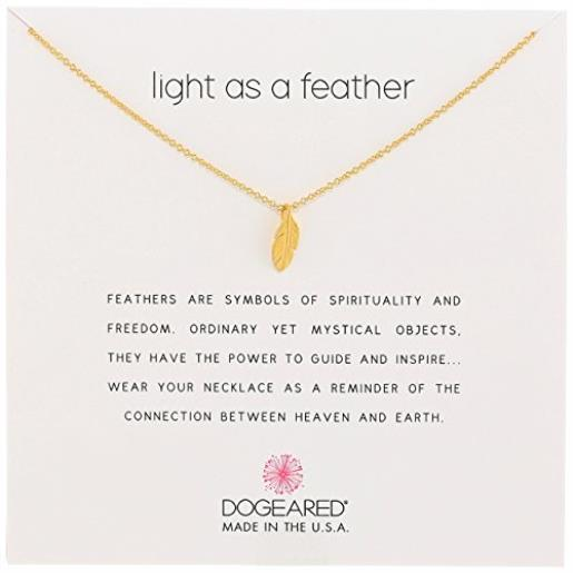 Dogeared Feather Necklace