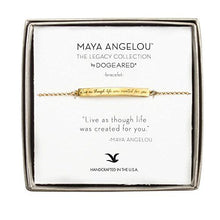 Load image into Gallery viewer, Dogeared Maya Angelou Bracelet