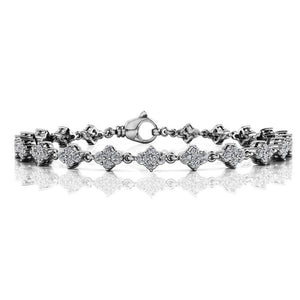 WHITE GOLD DIAMOND TENNIS BRACELET 1.76 ctw.