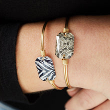Load image into Gallery viewer, Dylan Bangle Bracelet in Snakeskin
