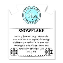 Load image into Gallery viewer, TJazelle Snowflake Charm Bracelet