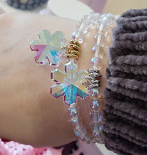 Load image into Gallery viewer, Marie's Exclusive Snowflake Stash Bracelet