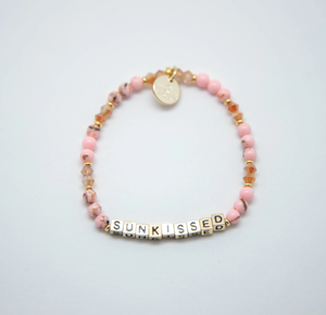 """Sunkissed"" Little Words Project Bracelet"
