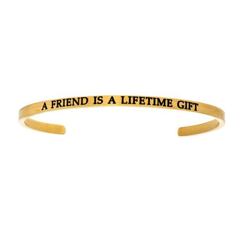A Friend Is A Lifetime Gift Bangle